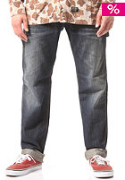 CARHARTT Fort Pant blue dark retro washed