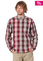 Gordon L/S Shirt red check