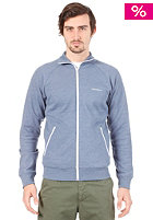 CARHARTT  Gym Jacket blue heather/white