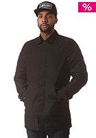 CARHARTT Harris Coat black fabric washed