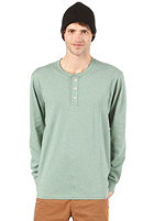 CARHARTT  Henley L/S T-Shirt bog heather
