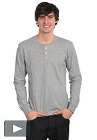 CARHARTT Henley L/S T-Shirt grey heather/heather