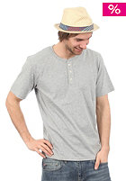 CARHARTT Henley S/S T-Shirt grey heather