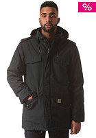 CARHARTT Hickman Coat dark petrol fabric washed