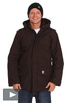 CARHARTT Hickman Coat Jacket pes/cot twill tobacco
