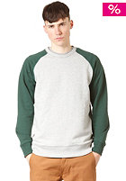 CARHARTT Holbrook Bi-Color Sweatshirt grey heather/bottle green