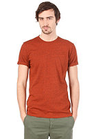 CARHARTT Holbrook S/S T-Shirt brick black heather
