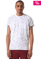 CARHARTT Howe S/S T-Shirt deep night/white lotus print