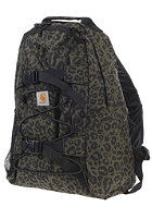 CARHARTT Kickflip Backpack panther print, cypress