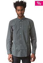 CARHARTT Klein L/S Shirt black klein check, rinsed