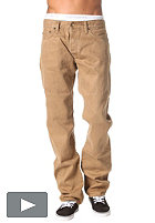 CARHARTT Klondike Pant orleans color denim bronze stone washed