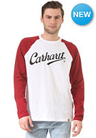 CARHARTT League Longsleeve white/alabama