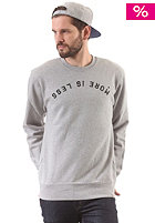 CARHARTT Less Is More Sweat grey heather/black