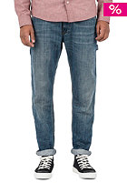 Lincoln Single Knee Pant blue sand washed