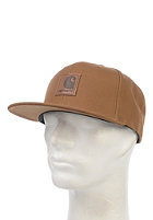 CARHARTT Logo Starter Snapback Cap hamilton brown