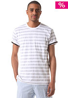 CARHARTT Marver Pocket S/S T-Shirt black/white allover print, marver stripe