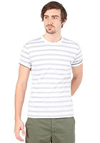 CARHARTT Marver Pocket S/S T-Shirt blue/white