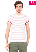 CARHARTT Marver Pocket S/S T-Shirt cardinal/white