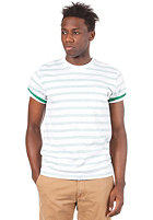 CARHARTT Marver Pocket S/S T-Shirt green/white
