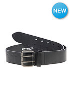 CARHARTT Military Belt black/silver inox silver inox buckle
