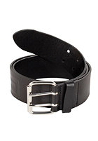 CARHARTT Military Belt Leather black/silver buckle