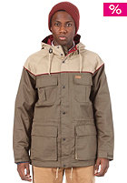 CARHARTT  Mill Jacket Soft Twill horn/leaf