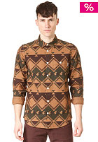 CARHARTT Native L/S Shirt dark brown