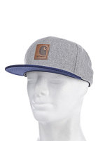 CARHARTT Neal Starter Cap grey heather/ labor blue