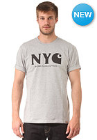 CARHARTT New York City S/S T-Shirt grey heather/black