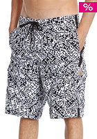 CARHARTT Ocean Board Short letter print white/black/black