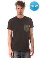 CARHARTT Olson Pocket S/S T-Shirt black/cactus print