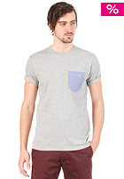 CARHARTT Oxford Pocket S/S T-Shirt grey heather/federal