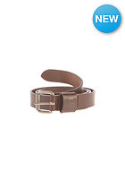 CARHARTT Palm Belt dark brown/silver inox