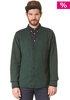 CARHARTT Playoff Cardigan bottle green heather