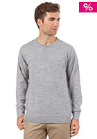 CARHARTT Playoff Sweat merino wool grey heather