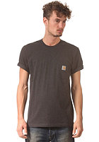 CARHARTT Pocket S/S T-Shirt black heather