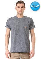 CARHARTT Pocket S/S T-Shirt blue noise heather