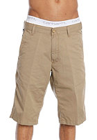 CARHARTT Presenter Bermuda Shorts Durango Twill 7,5oz leather rinsed