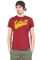 CARHARTT Rail Script S/S T-Shirt varnish/zest