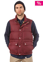 CARHARTT Raleigh Vest wine/carhartt brown
