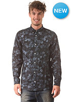 CARHARTT Rocha L/S Shirt night print, monsoon rigid