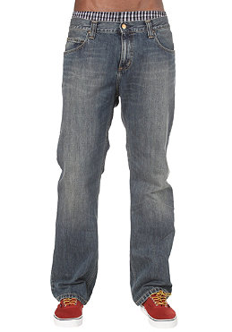 CARHARTT Rockin Pant Carmel Denim blue coast washed