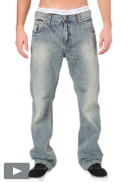 CARHARTT Rockin Pant Carmel Denim blue dune washed