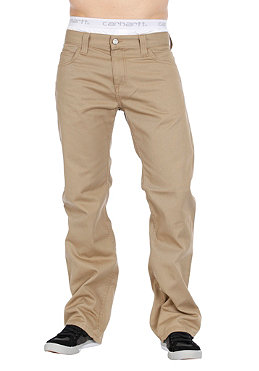 CARHARTT Rockin Pant leather rinsed