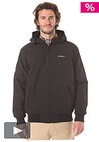 CARHARTT Sail Hooded Jacket nylon clear coating black/broken white