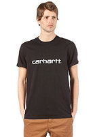 CARHARTT Script S/S T-Shirt black/white