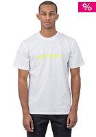 CARHARTT Script S/S T-Shirt white/fluo yellow