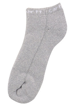 CARHARTT Shorty Socks grey heather/white