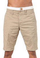 CARHARTT Sid Bermuda Shorts Lamar Twill Horn light stone washed