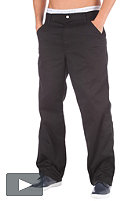 Simple Pant Denver Pes/Cot Twilll 8,5oz black rinsed
